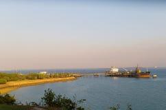 Puerto de Darwin Imagen de archivo libre de regalías