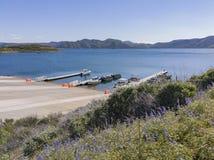 Puerto de Diamond Valley Lake imagen de archivo
