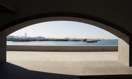 Puerto de distante Imagenes de archivo