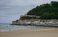 Puerto de Donosti San Sebastian Spain fotografía de archivo libre de regalías