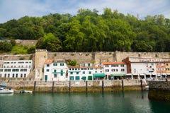 Puerto de Donostia foto de archivo libre de regalías