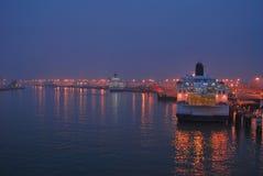 Puerto de Dover Foto de archivo libre de regalías
