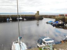 Puerto de Dunure Fotografía de archivo libre de regalías