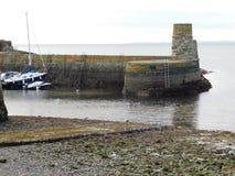 Puerto de Dunure Imagen de archivo libre de regalías