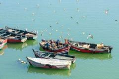 Puerto de EL Jadida, Marruecos imagen de archivo