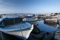 Puerto de Esmirna Foto de archivo libre de regalías