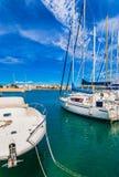 Puerto de España Majorca Oporto Colom fotografía de archivo