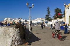 Puerto de Essaouira Imágenes de archivo libres de regalías