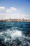 Puerto de Estambul Foto de archivo libre de regalías