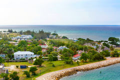 Puerto de Falmouth en la isla de Jamaica, el Caribbeans Imagen de archivo