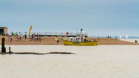 Puerto de Felixstowe, Suffolk, Inglaterra, Reino Unido Foto de archivo libre de regalías