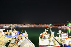 Puerto de Fishermans Imagen de archivo