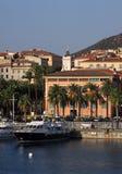 Puerto de Francia Córcega Ajacio Fotografía de archivo libre de regalías
