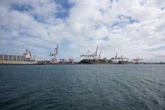 Puerto de Fremantle Imágenes de archivo libres de regalías