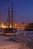 Puerto de Gdansk Imagen de archivo libre de regalías