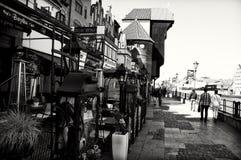Puerto de Gdansk Fotos de archivo