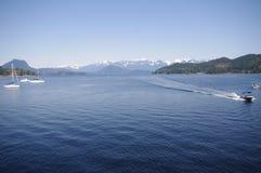 Puerto de Gibson Foto de archivo libre de regalías
