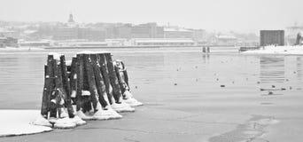 Puerto de Gothenburg Fotografía de archivo