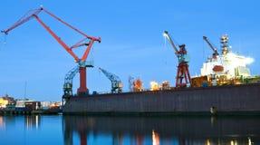 Puerto de Gothenburg Foto de archivo libre de regalías