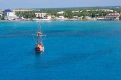 Puerto de Gran Caimán Fotografía de archivo