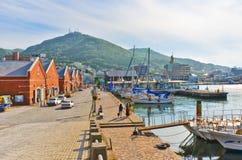 Puerto de Hakodate en Hakodate, Hokkaido, Japón Fotos de archivo libres de regalías