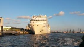 Puerto de Hamburgo imagen de archivo libre de regalías