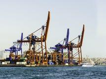 Puerto de Haydarpasa Imagen de archivo libre de regalías