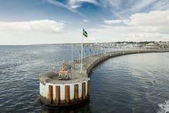 Puerto de Helsingborg Fotografía de archivo libre de regalías