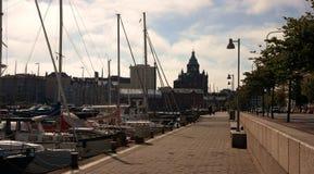 Puerto de Helsinki Imágenes de archivo libres de regalías