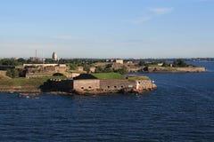 Puerto de Helsinki, año 2011 fotos de archivo libres de regalías