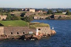 Puerto de Helsinki, año 2011 imagenes de archivo