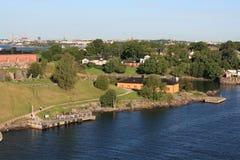 Puerto de Helsinki, año 2011 imágenes de archivo libres de regalías