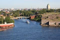 Puerto de Helsinki, año 2011 fotos de archivo