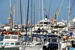 Puerto de Heraklión, Crete foto de archivo