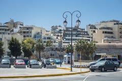 Puerto de Heraklion foto de archivo