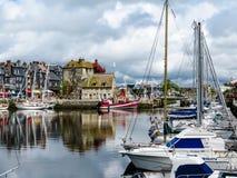 Puerto de Honfleur Fotos de archivo libres de regalías