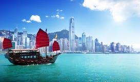 Puerto de Hong Kong Foto de archivo