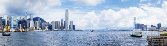 Puerto de Hong-Kong fotos de archivo libres de regalías