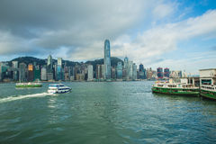Puerto de Hong-Kong Fotos de archivo