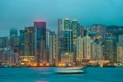 Puerto de Hong-Kong victoria Fotografía de archivo