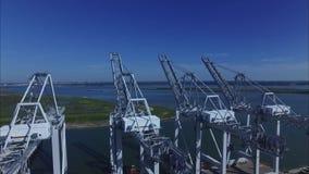 Puerto de Houston Tejas complejo del petróleo metrajes