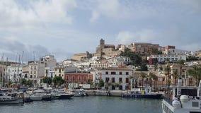 Puerto de Ibiza, España Fotos de archivo libres de regalías