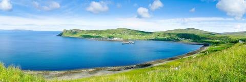 Puerto de Idrigill y de Uig, isla de Skye Fotos de archivo libres de regalías