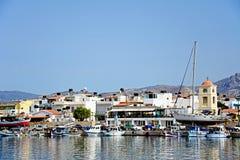 Puerto de Ierapetra, Creta Imagen de archivo libre de regalías
