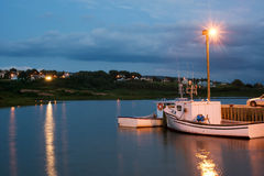 Puerto de Inverness Imagen de archivo libre de regalías