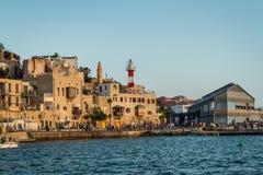 Puerto de Israel Jaffa Foto de archivo