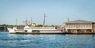 Puerto de Kadikoy en Estambul, Turquía Fotografía de archivo libre de regalías