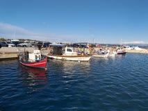 Puerto de Katakolo imagen de archivo libre de regalías