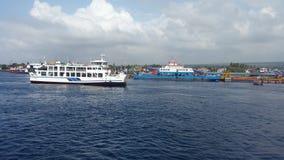 Puerto de Ketapang Imagen de archivo libre de regalías