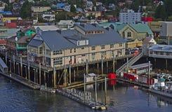 Puerto de Ketchikan Fotografía de archivo libre de regalías